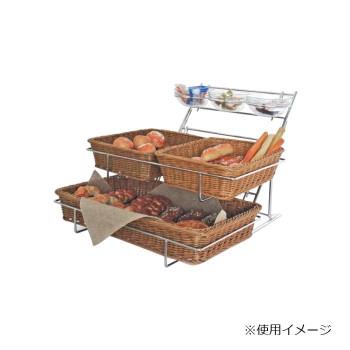 Buffet(ブッフェ) GNシステムラック ブレッドバスケット(ジャム/バター入れ付) RASD-015【送料無料】