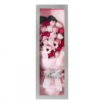 お花のカタチの入浴剤 ボックスブーケ PINK 767678【送料無料】