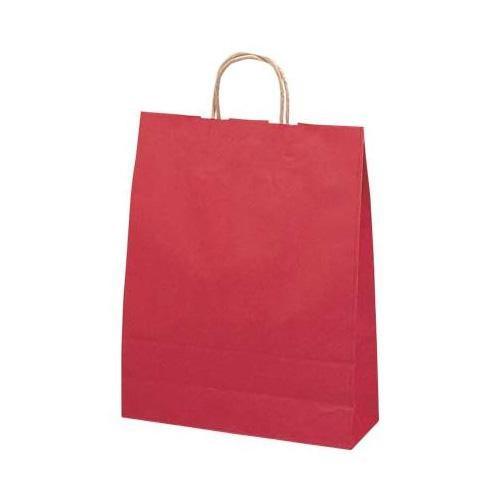 ササガワ タカ印 50-5406 手提げ袋 赤 特大 50枚【送料無料】