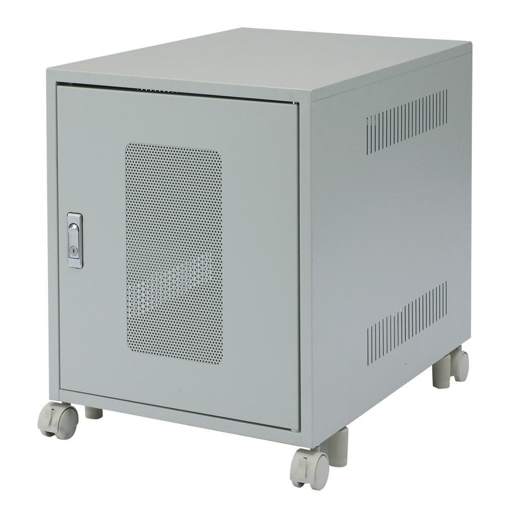 収納 ラック 整理整頓サンワサプライ 省スペース19インチボックス(6U) CP-027K【送料無料】