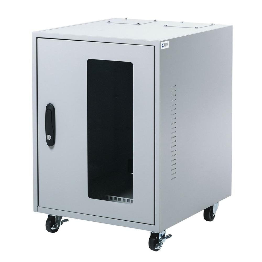 オフィス 転倒防止 対策サンワサプライ 簡易防塵ハブボックス(6U) MR-FAHBOX6U【送料無料】