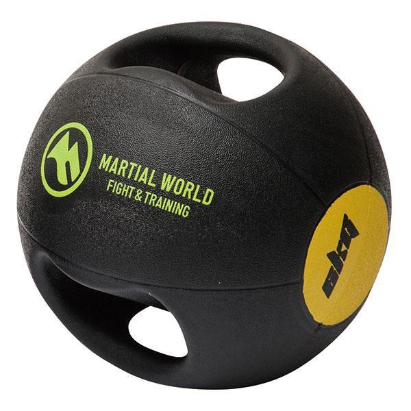 下半身 筋トレメディシンボール ダブルグリップタイプ 6kg MB6【送料無料】