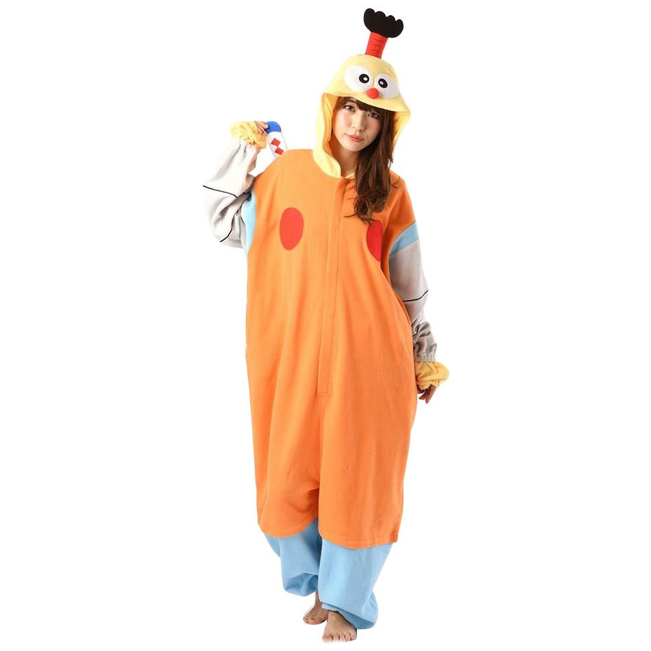 サザック フリース着ぐるみ キテレツ大百科 コロ助 フリーサイズ BAN-069【送料無料】