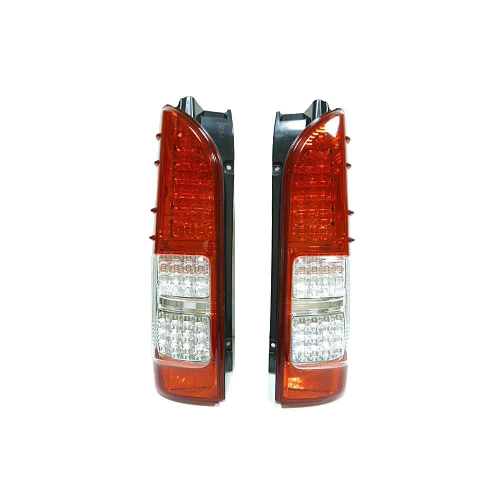 LEDランプ led ハイエース4型SoulMates 200系ハイエース カスタム用フルLEDテールランプ 4型風 赤/白 GTT-002【送料無料】