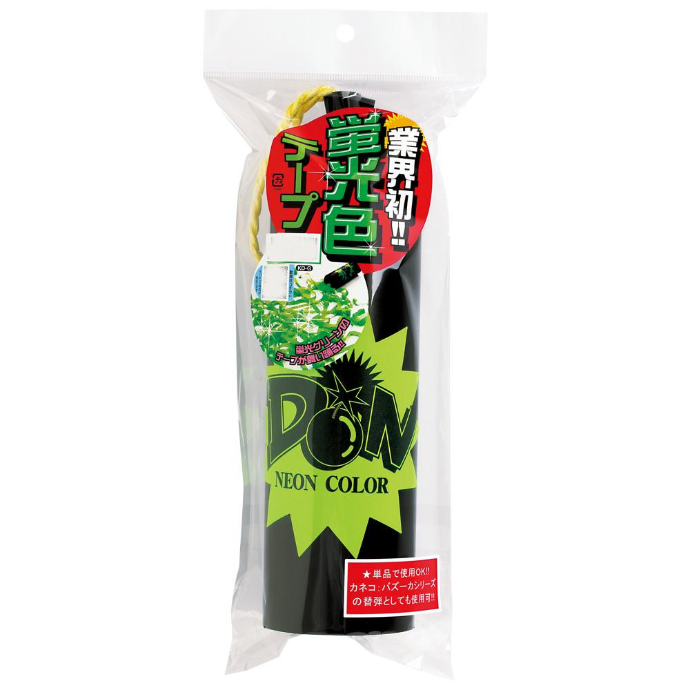KD-G DONネオンクラッカー(グリーン)1本入×8【送料無料】