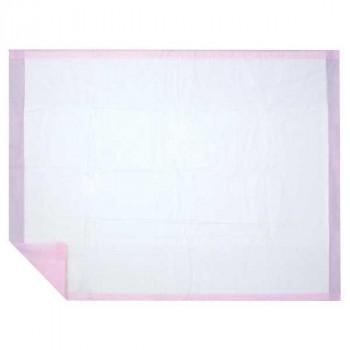 ハクゾウメディカル 吸水マット バースヘルパー ピンク 滅菌 1枚入×20袋 3906020【送料無料】