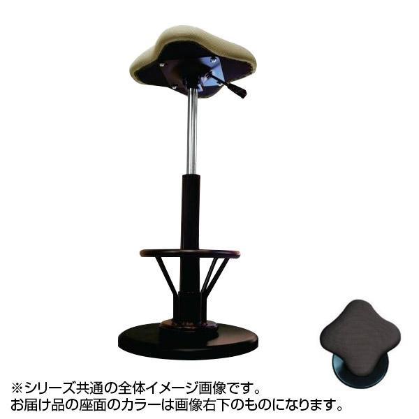 ツイストスツールラフレシアKモーR (フットレスト付き) ブラウン/ブラック TWS-240R【送料無料】