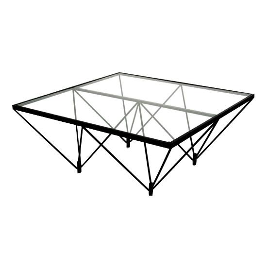 ガラス製 ガラス机 北欧ガラステーブル FT-35【送料無料】