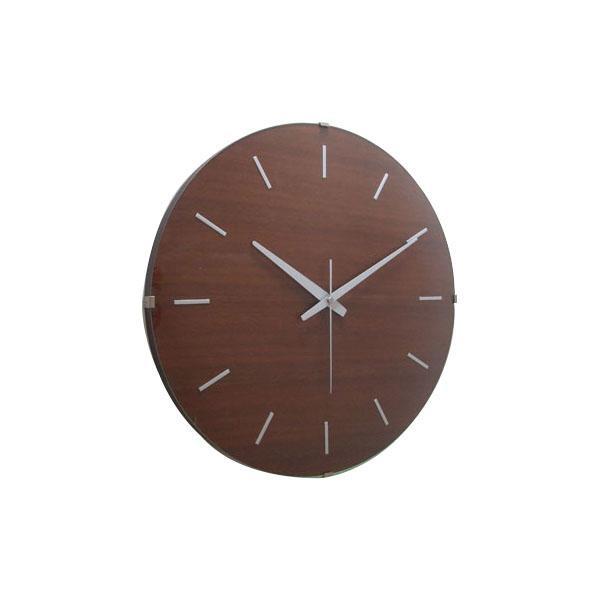 ドームバークロック 電波時計 ブラウン V-031【送料無料】