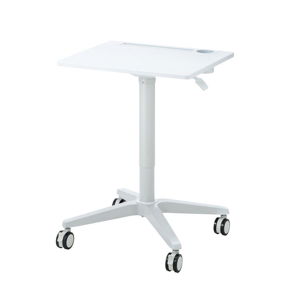 テーブル オフィス シンプルサンワサプライ パーソナルガス昇降デスク ERD-GAP5W【送料無料】