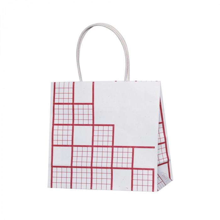 紙袋パックタケヤマ 手提袋 ST 東北コットン こうし 10枚×10包 XZT68801【送料無料】