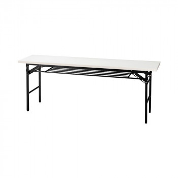 オフィス家具 ミーティングテーブル ハイタイプ 180×45×70cm ホワイト KM1845T-W【送料無料】