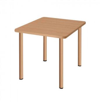 オフィス・施設向け家具 スタンダードテーブル ナチュラル UFT-4S9090-NA【送料無料】