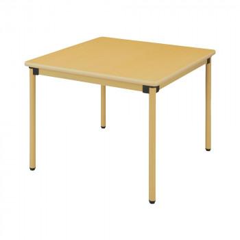 オフィス・施設向け家具 オールラウンドテーブル 90×90×70cm メープル UFT-ST9090【送料無料】