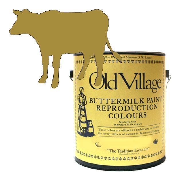 ペイント マット 仕上げOld Village バターミルクペイント オールド バターミルク イエロー 3785mL 605-13101 BM-1310G【送料無料】
