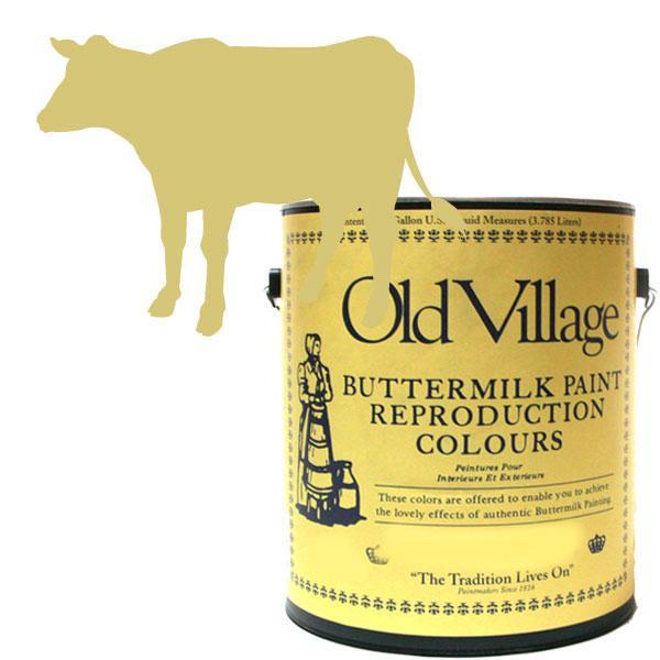 Old Village バターミルクペイント ワイルダーチェアー イエロー 3785mL 605-01011 BM-0101G【送料無料】