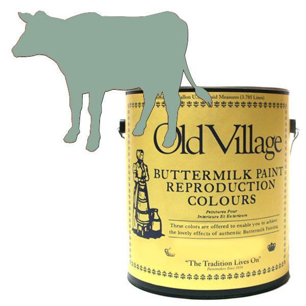 Old Village バターミルクペイント ドレッシング テーブル ブルー 3785mL 605-05091 BM-0509G【送料無料】