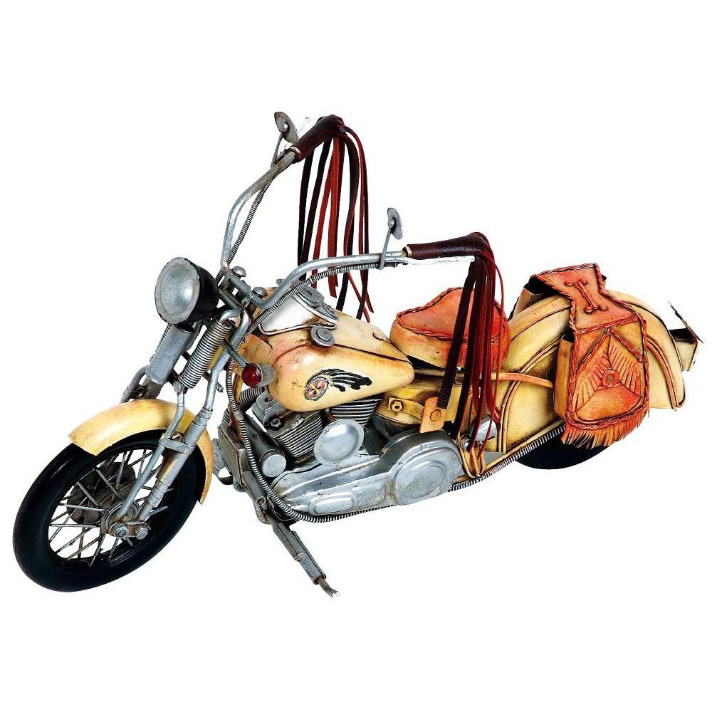 ブリキのおもちゃ(motorcycle western) 27216【送料無料】