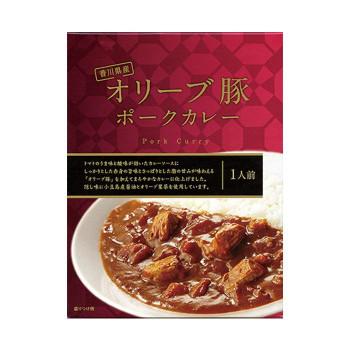 73231 オリーブ豚ポークカレー 180g ×40セット【送料無料】