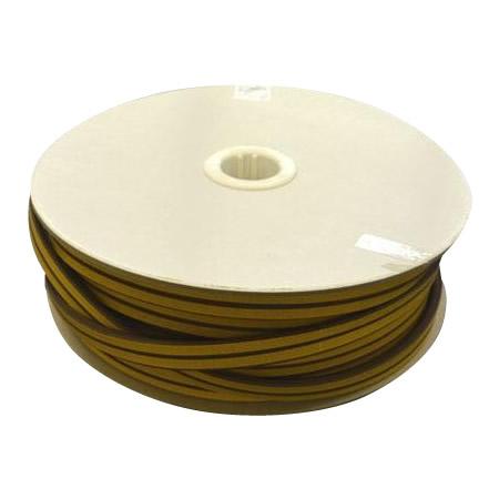 防音効果 すきま風防止 暖房効果アップ光 (HIKARI) 戸当り防音クッションテープ粘着付茶D型 6×18mm KD8-50W  50m【送料無料】