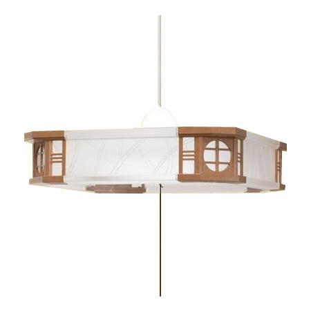 昼光色 レトロ 日本製TAKIZUMI(瀧住)ペンダントライト和風 ~6畳 LEDタイプ RV60063【送料無料】