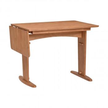 自然な雰囲気の伸長式ダイニングテーブル 伸縮式ダイニングテーブル 蔵 モアナ ANA 低価格化 送料無料