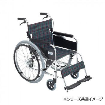 エムワンシリーズ MPN-40JD【送料無料】 アルミフレーム自走型 車いす シート幅420mm ミキ/MiKi