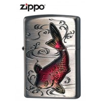 ZIPPO(ジッポー) ライター 鯉 63380198【送料無料】
