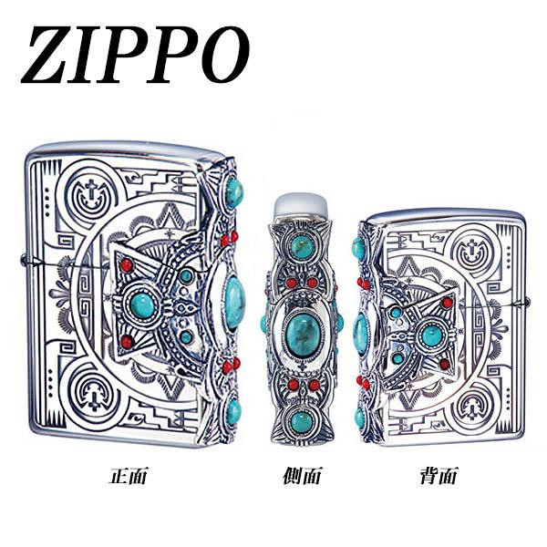 かわいい お洒落 明けの明星ZIPPO インディアンスピリット クロス【送料無料】
