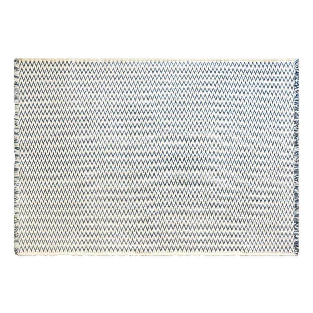オカトー スパイス インテリアマット 140×200cm ジグザグ【送料無料】