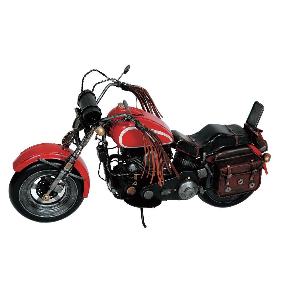 ブリキのおもちゃ(motorcycle red) 27224【送料無料】