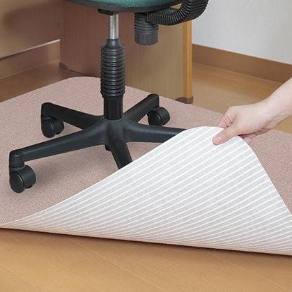 出群 床の傷つきを防ぐ デスク足元用マット おしゃれ お掃除 ショップ 送料無料 デスク足元マット ずれにくい薄くてズレにくい