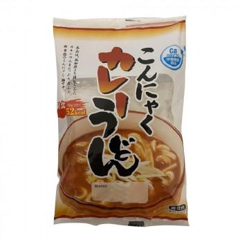 こんにゃく粉と大豆で練り上げたこんにゃく麺 ナカキ食品 蒟蒻麺カレーうどん 24個セット【送料無料】