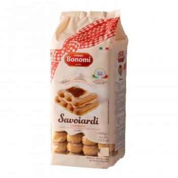 伝統的なレシピを大切にしたボノミのビスケット ボノミ サヴォイアルディ 期間限定今なら送料無料 400g 送料無料 驚きの値段 15袋セット 6363
