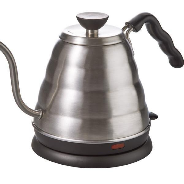 湯沸かし コーヒー ポットHARIO(ハリオ) Buono V60 細口パワーケトル・ヴォーノ EVKB-80HSV【送料無料】