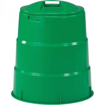 生ごみの減量 堆肥化が簡単に出来る 手軽 生ごみ軽減 好評 毎日処理三甲 サンコー 正規激安 コンポスター130型 805039-01 送料無料 グリーン 生ゴミ処理容器