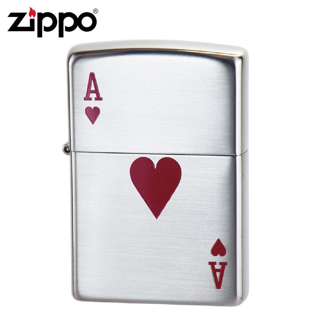ZIPPO(ジッポー) オイルライター 2ACE-H【送料無料】 メール便対応商品