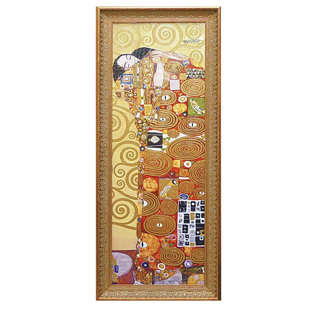 アート 芸術 インテリアユーパワー グスタフ クリムト「抱擁」 GK-18002【送料無料】