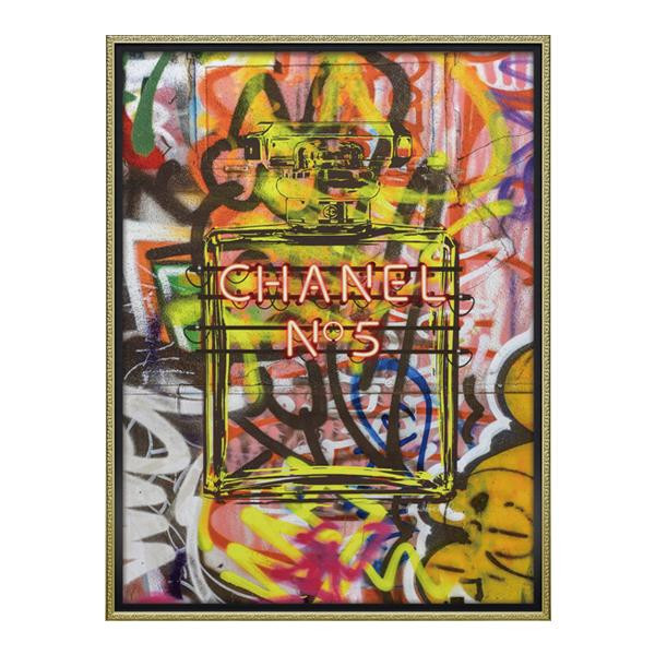 ユーパワー オマージュ キャンバスアート 「グラフィティ パフューム2(Lサイズ)」 BC-18016【送料無料】