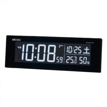 Seasonal Wrap入荷 常に正確な時を刻む電波時計です セイコー 電波デジタル目覚まし時計 送料無料 特別セール品 2205-029 DL305K