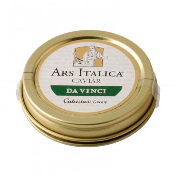北イタリアで養殖されたキャヴィア アルスイタリカ 本店 イタリア産キャビア ダヴィンチ アドリアチョウザメ 本日限定 ソフトパスチュライズ 送料無料 20g 7209