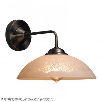 ブラケットライト グレイス アンティークレース・BK型BR (電球なし) GLF-3223X【送料無料】