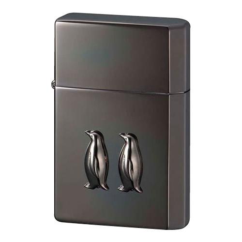 ペンギン オイルライター GEAR TOP ペンギンメタル イオンブラック【送料無料】 メール便対応商品