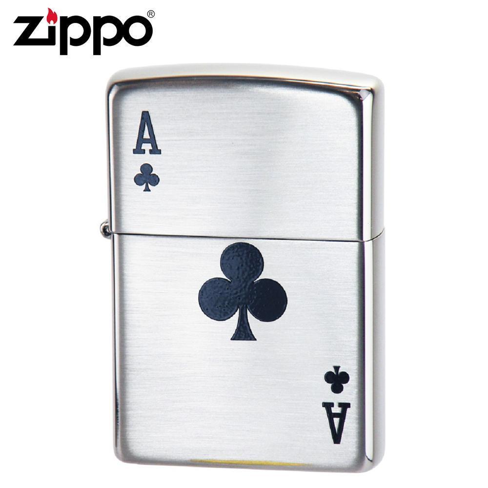 ZIPPO(ジッポー) オイルライター 2ACE-C【送料無料】 メール便対応商品