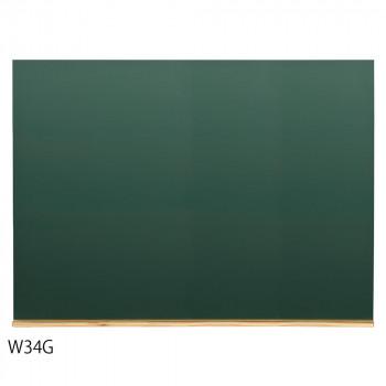 デコレーション 粉受付き 壁掛け馬印 木製黒板(壁掛) グリーン W1200×H900 W34G【送料無料】
