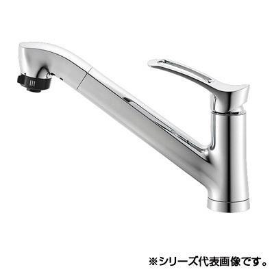 三栄 SANEI シングルワンホールスプレー混合栓 K87120JV-13【送料無料】