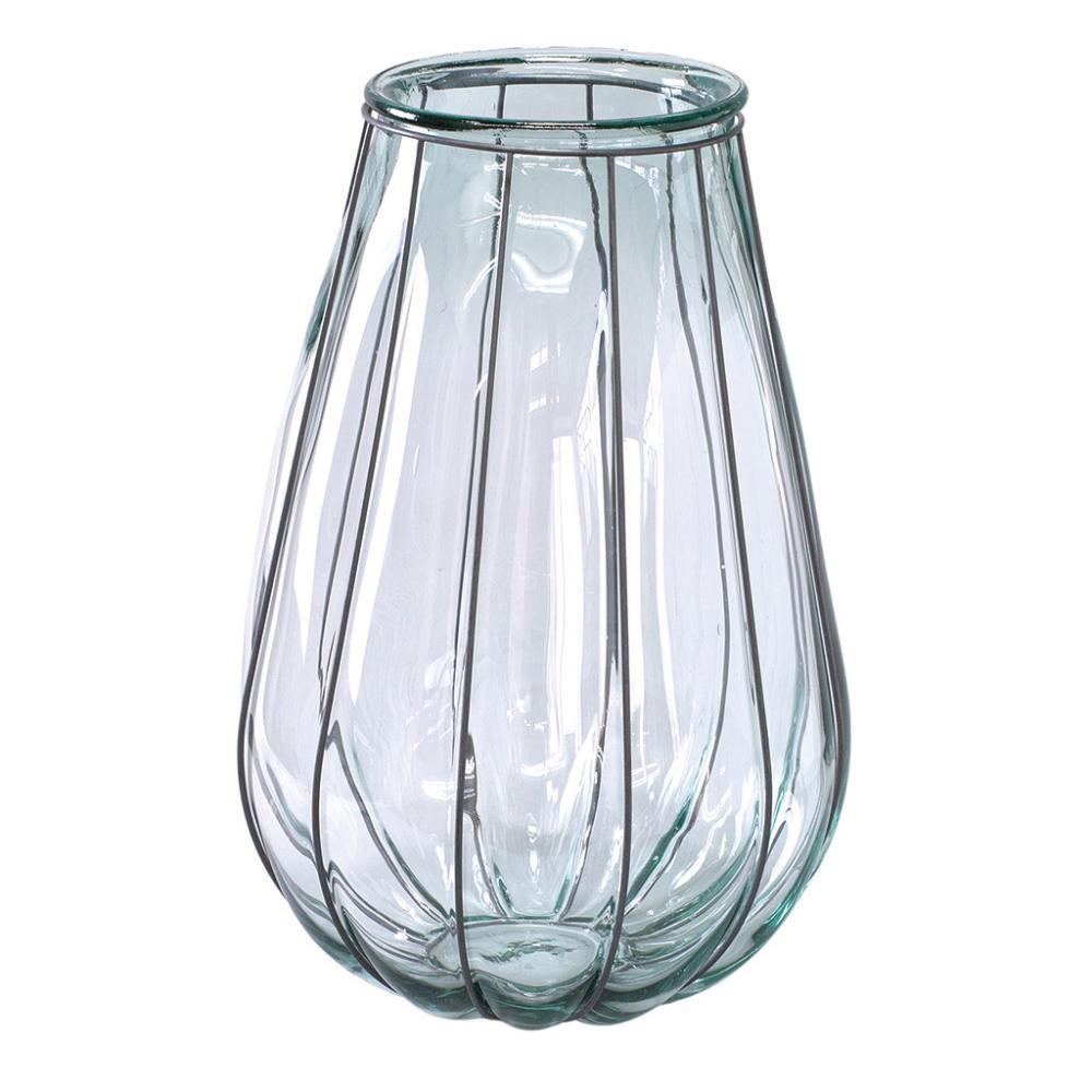 SPICE VALENCIA リサイクルガラスフラワーベース VEINTITRES クリア VGGN1230【送料無料】