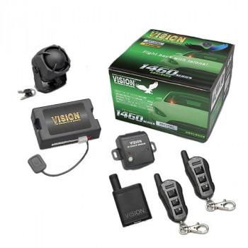 VISION 盗難発生警報装置 ハイグレード・スマートセキュリティ リモコン×2セット 1460B-2S (1460B+TR365D)【送料無料】