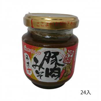 赤マルソウ 沖縄豚肉みそ(唐辛子入り) 140g×24入【送料無料】