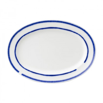 NIKKO ニッコー 36.5cmプラター BLUE RING ブルーリング 11662-4036【送料無料】